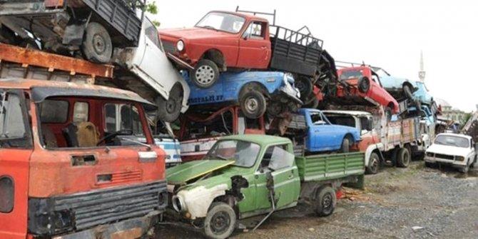 Hurda araç sayısı rekor seviyeye ulaştı