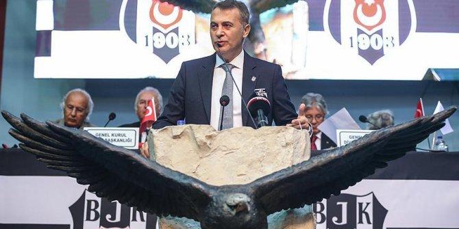 Beşiktaş'ın Başkanı yine Fikret Orman...