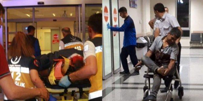 Flaş Haber...Sincik'te mermer ocağında patlama: Yaralılar var