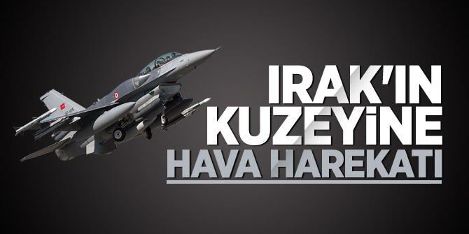 PKK'ya hava harekatı: 5 terörist öldürüldü