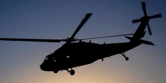 TSK Şırnak'ta yaralanan vatandaşı helikopterle hastaneye taşıdı!