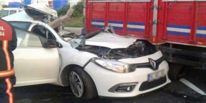 Düzce'de feci Kaza! 2 kişi yaralandı