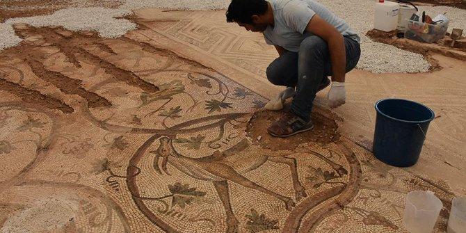 Adıyaman'da bulunan mozaik ziyarete açılacak