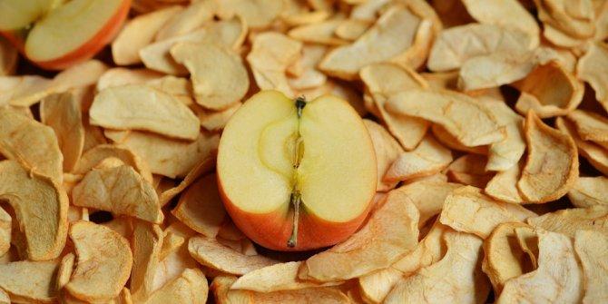 İşte kuru elmadan elde edilen gelir!