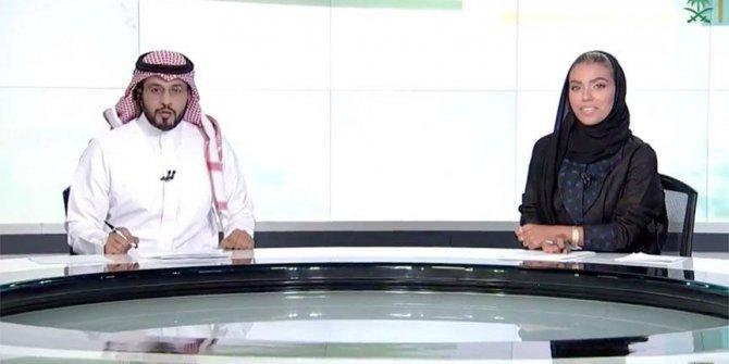 Suudi Arabistan'da ilk kadın spiker!