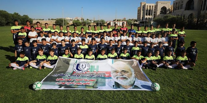 Gazzeli sporcular'dan Mehmet Kaya'ya teşekkür