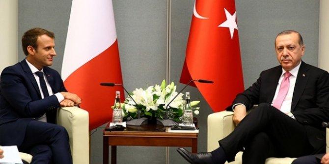 Erdoğan'ın, Fransa Cumhurbaşkanı ile görüşmesi başladı!