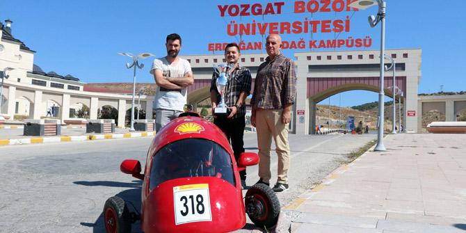 1 liraya 180 km giden elektrikli araç üretildi
