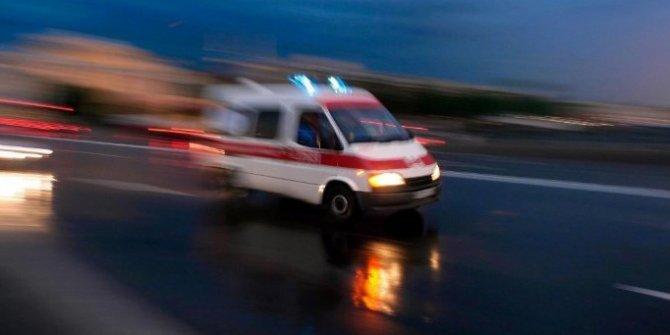 Burdur'da tır ile otomobil çarpıştı: 4 yaralı