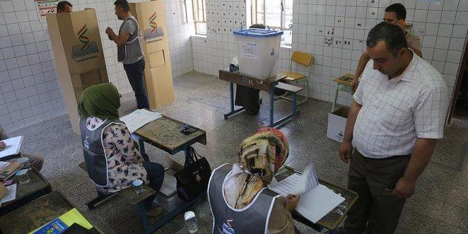 IKBY'de oy verme işlemi başladı