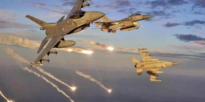 Irak'ın kuzeyine hava harekatı! 13 terörist etkisiz hale getirildi