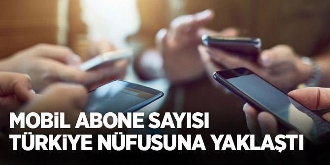 Türkiye'de mobil abone sayısı,  79,5 milyona ulaştı!