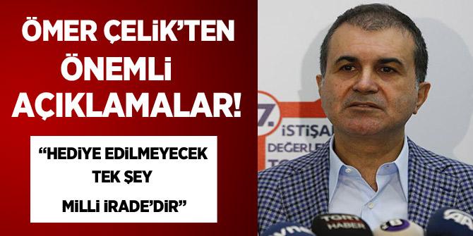 AK Parti Sözcüsü Çelik'ten kayıp Suudi gazeteci ile ilgili açıklama