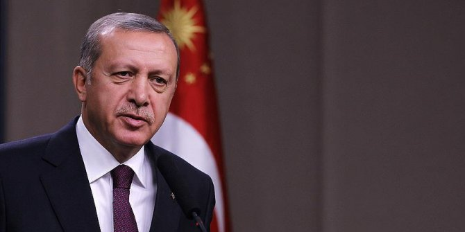 Başkan Erdoğan'dan HÜDA PAR'a telgraf!