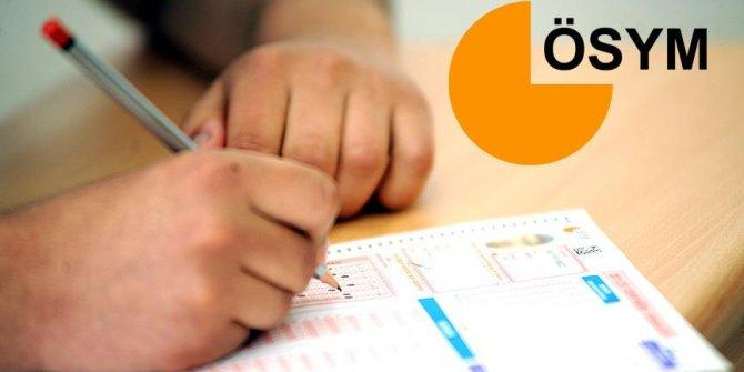 Ortaöğretim düzeyi KPSS yapıldı