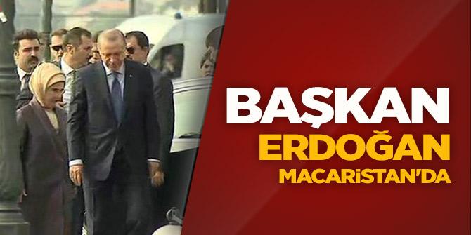 Başkan Erdoğan MACARİSTAN'DA