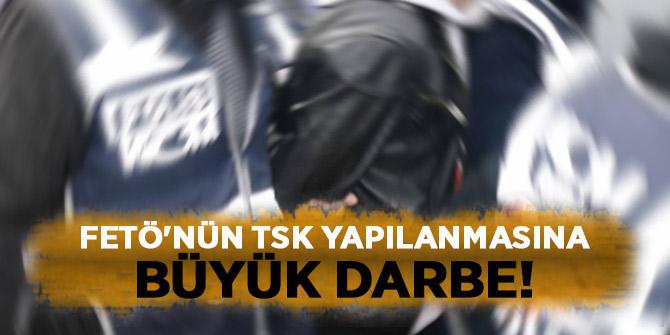 FETÖ'nün TSK yapılanmasına büyük darbe! 722 şüpheli tutuklandı