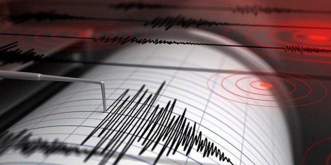 Yunanistan'da 4.2 büyüklüğünde  deprem