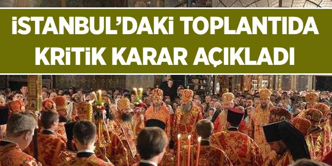 Fener Rum Patrikhanesi'nden önemli karar!
