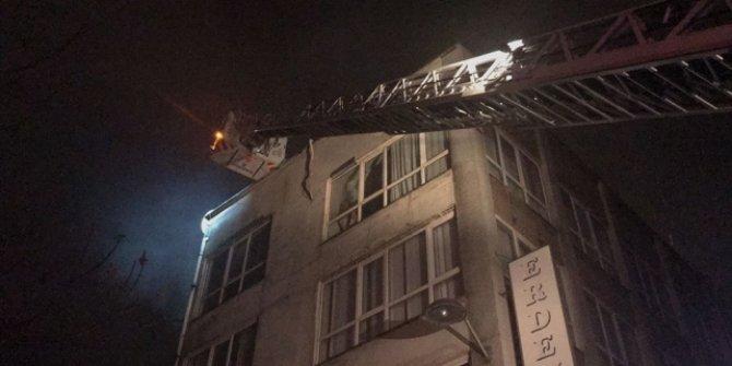 Fatih'te iş yeri yangını!