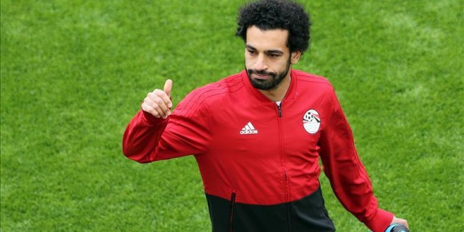 Mısır'ın eSwatini ile oynadığı grup mücadelesinde yıldız oyuncu kornerden gol attı!