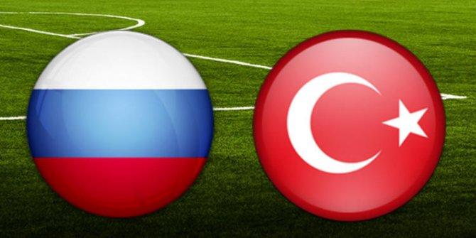Rusya Türkiye maçı ne zaman saat kaçta hangi kanalda yayınlanacak?