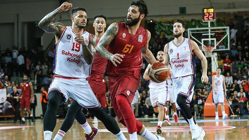 Bahçeşehir Koleji, Galatasaray'ı 83-78 yendi
