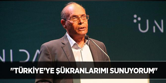 Eski Tunus Cumhurbaşkanı Merzuki'den Türkiye'ye teşekkür!