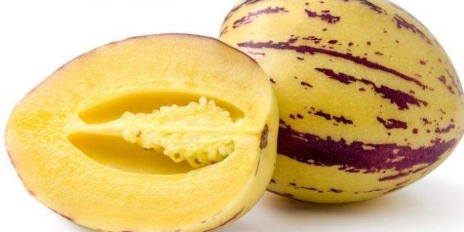 Pepino meyvesi: Patlıcan ailesine dahil ama tadı kavun meyvesi! İşte faydaları..