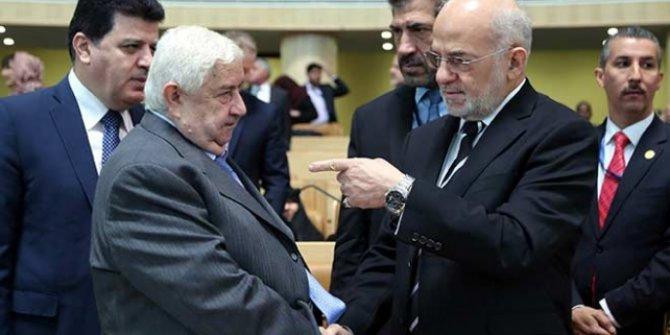Irak Dışişleri Bakanı Caferi Suriyeli mevkidaşı ile bir araya geldi!