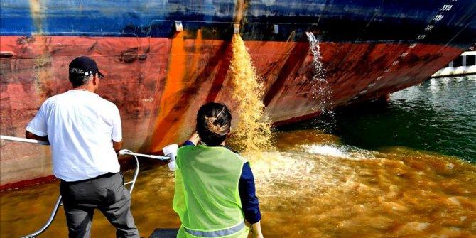 Doğu Akdeniz'i kirleten gemilere para cezası