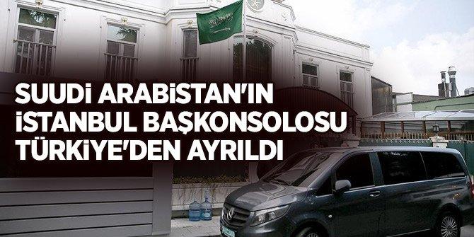 Suudi Arabistan İstanbul Başkonsolosu Türkiye'den ayrıldı