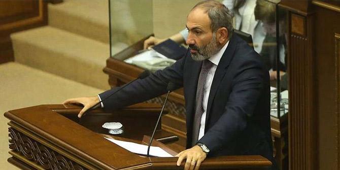 Başbakan Paşinyan istifa etti!