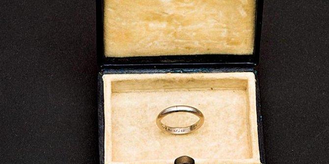 İşte Atatürk'ün Latife Hanım'a taktığı nikâh yüzüğü! 'Ata'nın alyansı'