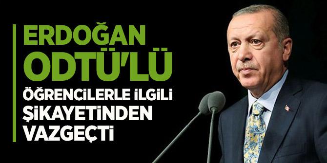 ODTÜ Davasında Flaş Gelişme!Başkan Erdoğan...