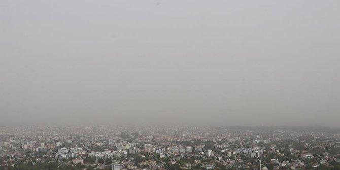 Toz bulutu hava kirliliğini arttırdı