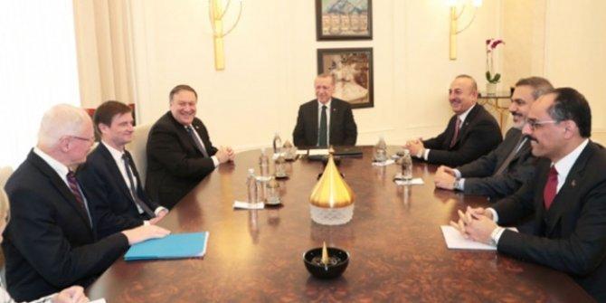 ABD'den Pompeo'nun Ankara ziyaretiyle ilgili açıklama