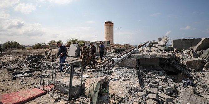 İsrail güçleri Gazze'de 20 hedefi vurdu