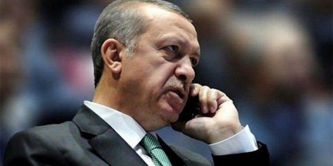 Başkan Erdoğan'dan taziye telefonları!