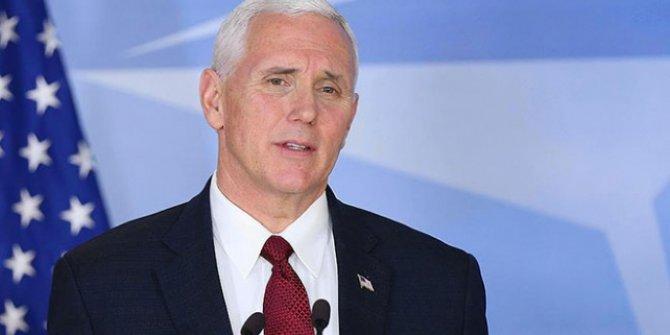 """ABD Başkan Yardımcısı Pence'den Kaşıkçı açıklaması! """"Bunun bir bedeli olacaktır"""""""