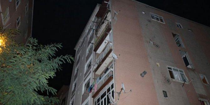 İstanbul Şişli'de çökme tehlikesi bulunan bina tahliye edildi!