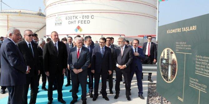 Erdoğan: Star Rafineri Türkiye'nin en büyük yerlileştirme projesidir