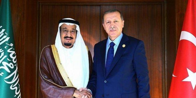 Başkan Erdoğan Kral Selman ile görüştü!