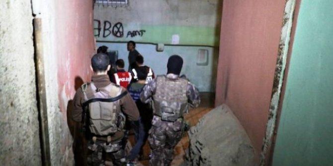 Diyarbakır'da 400 polisle asayiş uygulaması yapıldı!