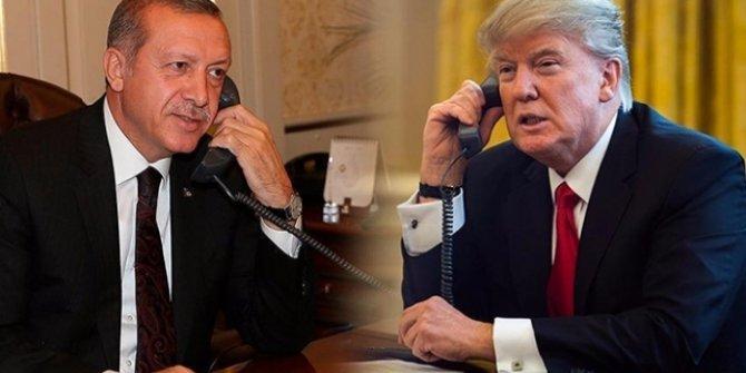 Son dakika... Erdoğan-Trump ile görüştü!