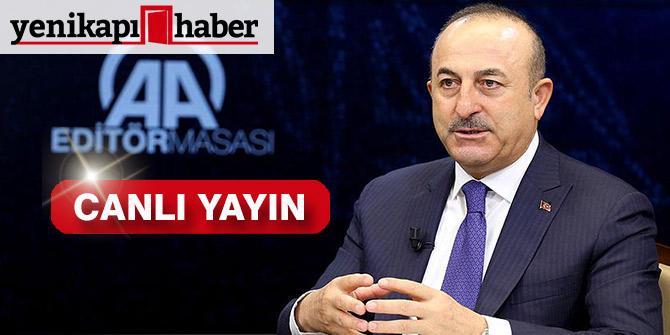 Dışişleri Bakanı Çavuşoğlu konuşuyor- Canlı