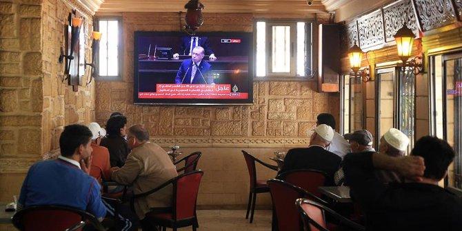Ortadoğu basını Başkan Erdoğan'ın konuşmasına geniş yer verdi
