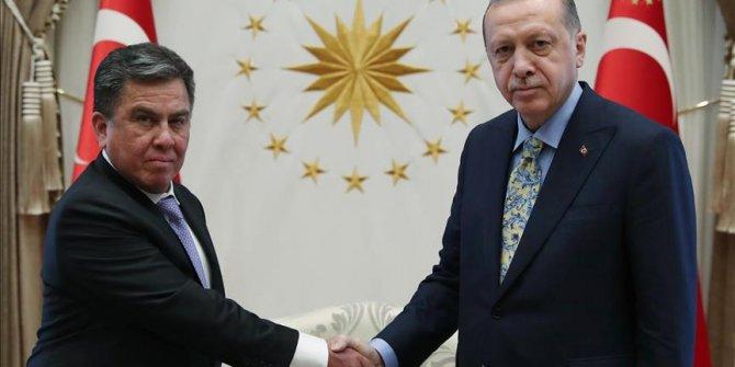Başkan Erdoğan Peru Büyükelçisini kabul etti!