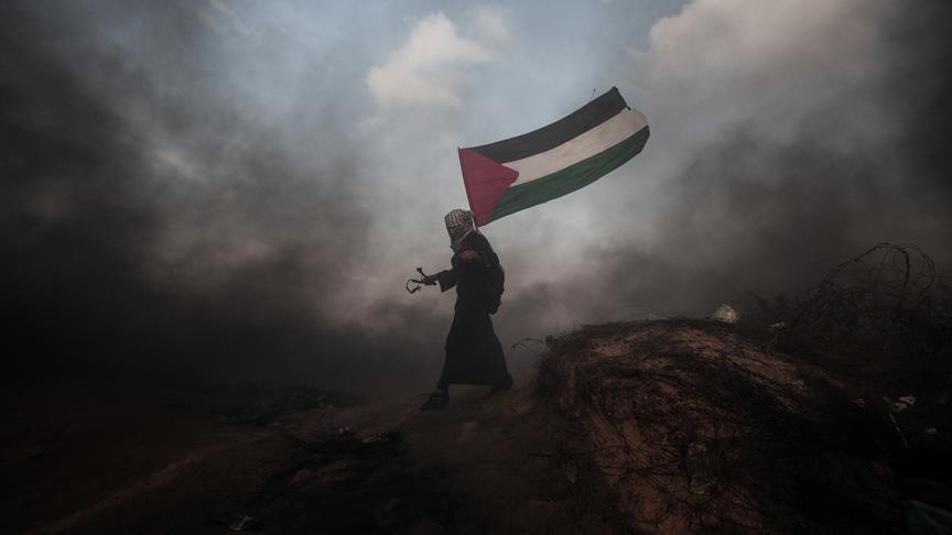 İsrail askerleri Gazze sınırında 1 Filistinliyi ağır yaraladı
