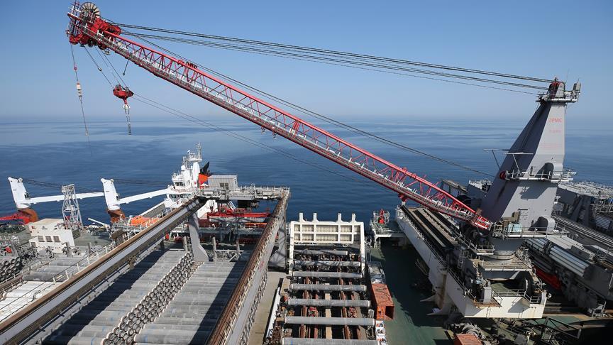TürkAkım'ın deniz geçişinin yüzde 95'i tamamlandı!